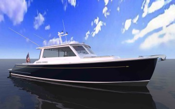 Zurn/NEB 38 Custom Dive Boat planned launch next february 2016