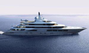 111 metre superyacht