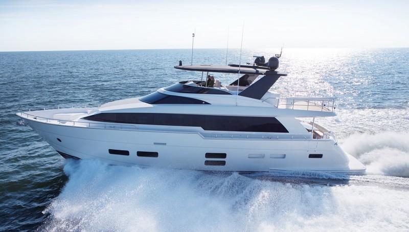 The new hatteras 70 motor yacht nautech news for Hatteras 70 motor yacht