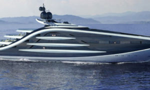 Epiphany superyacht concept by Andy Waugh  Yacht Design