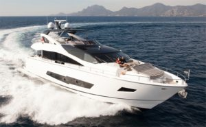 Yacht86 sunseeker