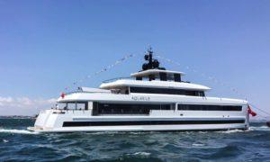Mengi Yay's 45-metre yacht Aquarius
