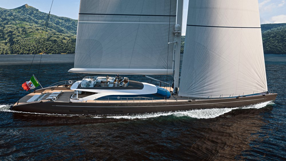 A new 47-metre sailing yacht project by Perini Navi - Nautech News