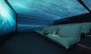 The Lumiere, an immersive cinema concept by Genesis Marine Division and Van Geest