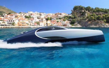 Bugatti Niniette 66, an iconic supercar-inspired yacht