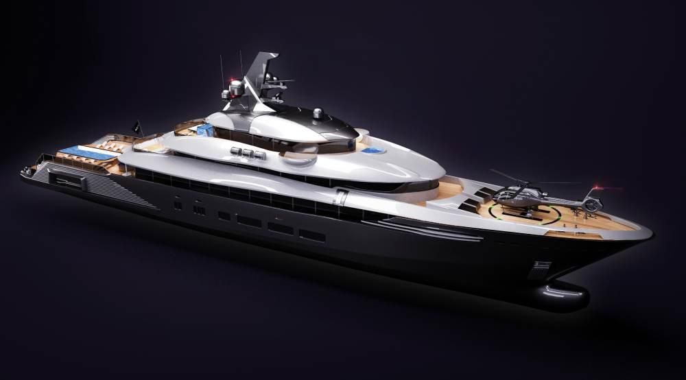 Superyachten concept  Moea 85-metre superyacht concept - Nautech News