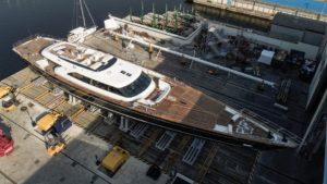 Perini Navi 60m sailing yacht Seven