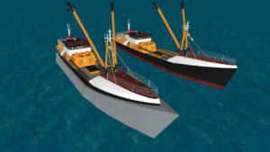 Zships render of wave energy propulsion system