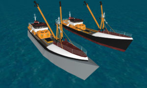 ZShips concept for wave energy propulsion systems