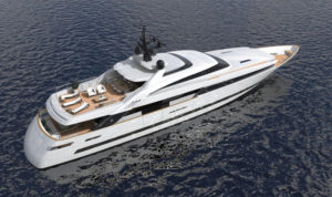 ISA Alloy 43, 43m superyacht project