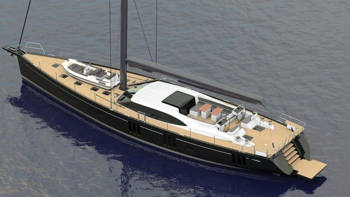 Oyster 895 sailing yacht