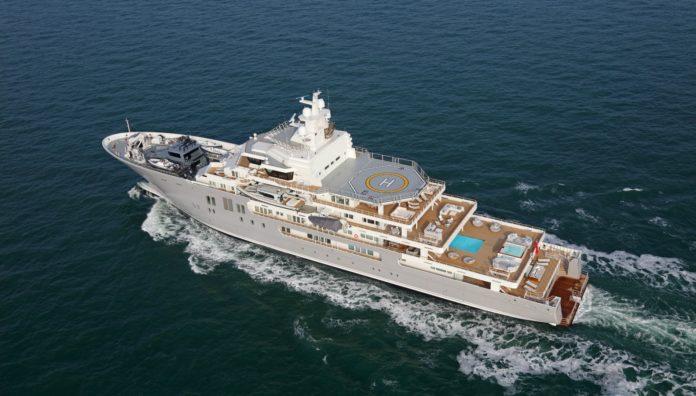 Kleven 107m explorer superyacht Ulysses