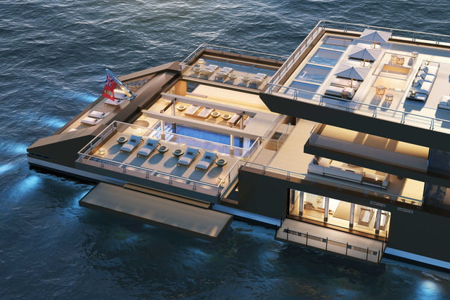 Sinot superyacht concept Nature