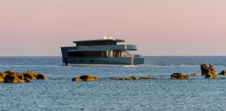 Isaac Burrough Design 28-metre yacht concept