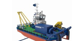 Damen Water Injection Dredger