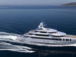 Turquoise Yacht's 74-metre motor yacht
