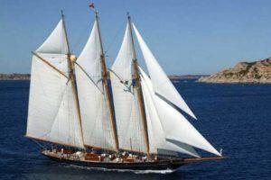 Fraser Shenandoah of Sark luxury sailing superyacht