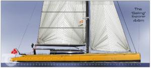 Barracuda Yacht Design 44m Sailing Explorer