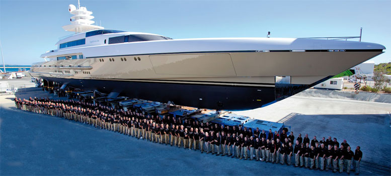 The Numbers In Yacht Management How Much Costs A Super Or A