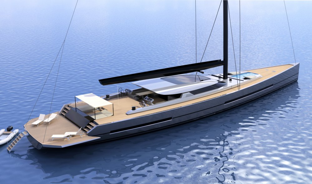 A New Sailing Yacht Concept By Fg Yacht Design And Duck
