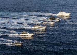Ferretti Group's fleet