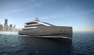 Rolls Royce Crystal Blue superyacht