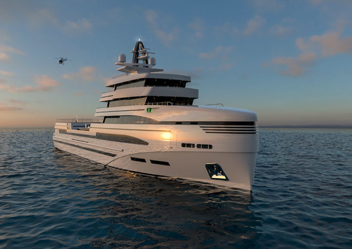 Rosetti Superyachts 85m expedition supply vessel concept unveiled