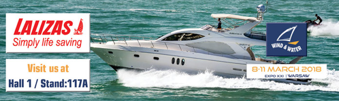 Lalizas Wind and Water Boat Show 3018