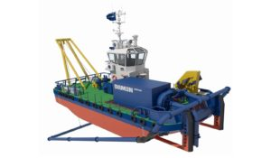 Damen Water Injection Dredger WID