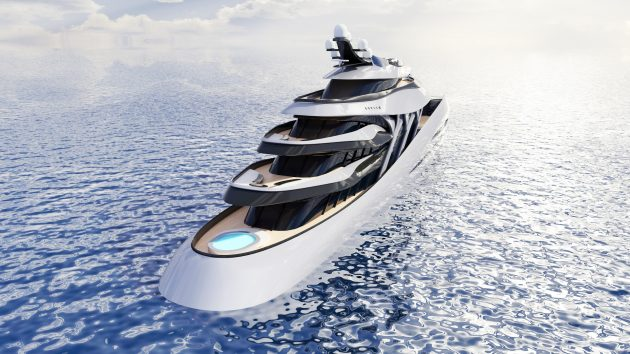 110m superyacht Elyon by Expleo