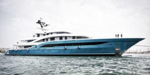 Turquoise Yachts 77m motor yacht GO, Ph. Francisco Martinez