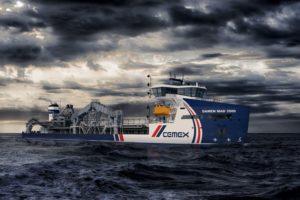 The new Damen dredger featuring Wärtsilä propulsion equipment
