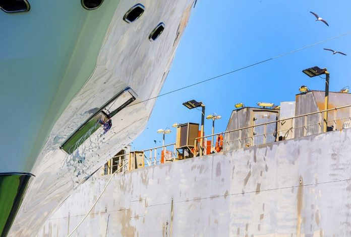 italian yacht launch