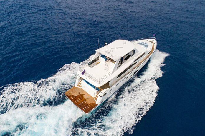 luxury customisable yacht