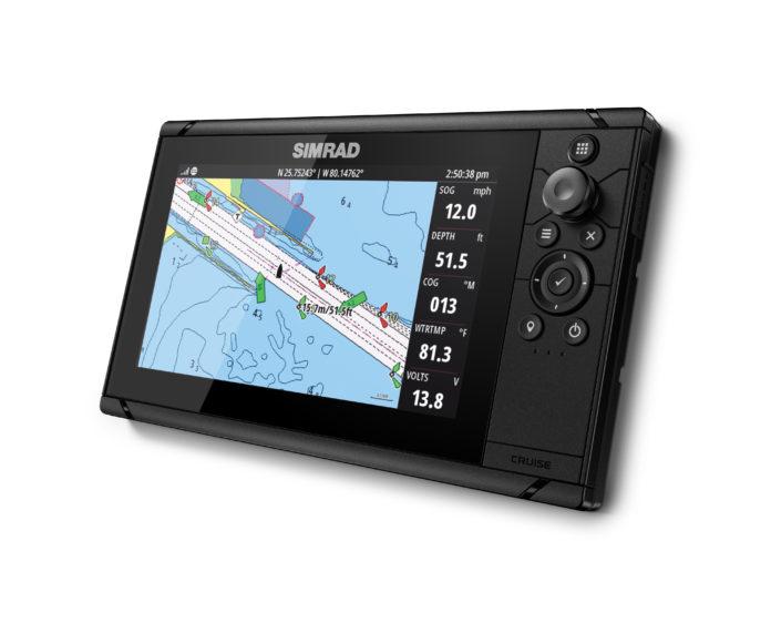 new chartplotter for safer cruise
