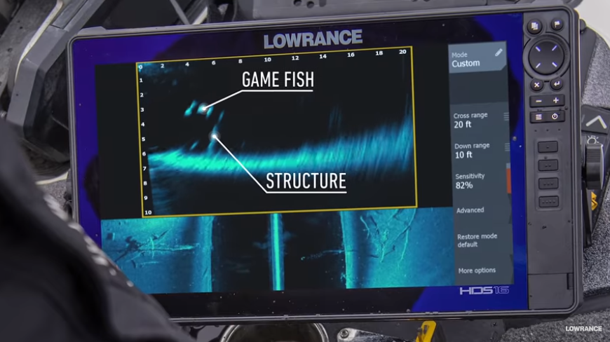 Soon on the market the new Lowrance LiveSight Sonar - Nautech News