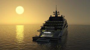 luxurious californian yacht