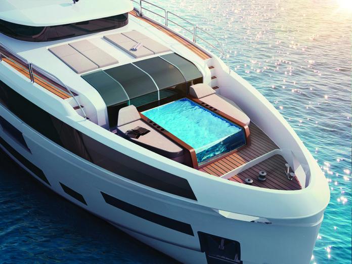 sirena 88 yacht exterior