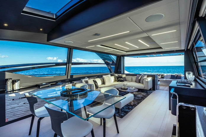 yacht series integrated system launch