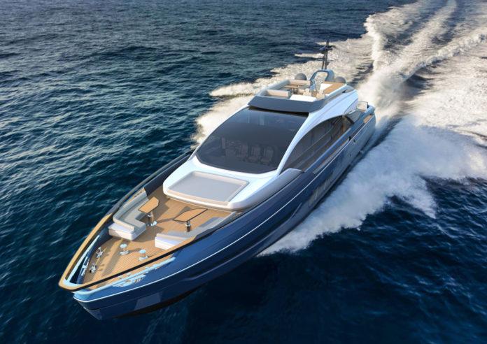 italian sporty yacht