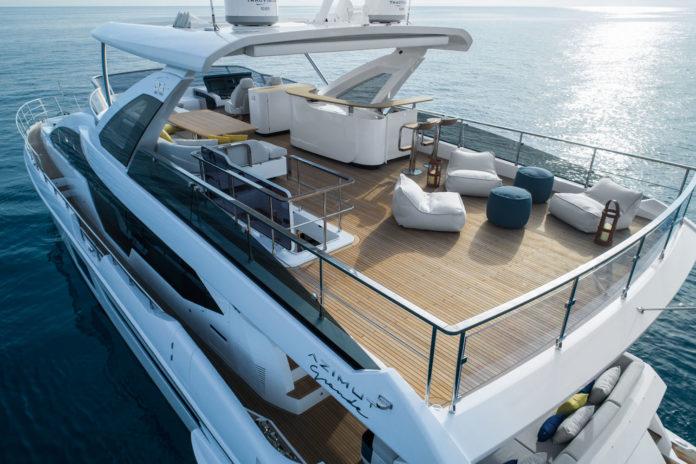 italian yacht exterior