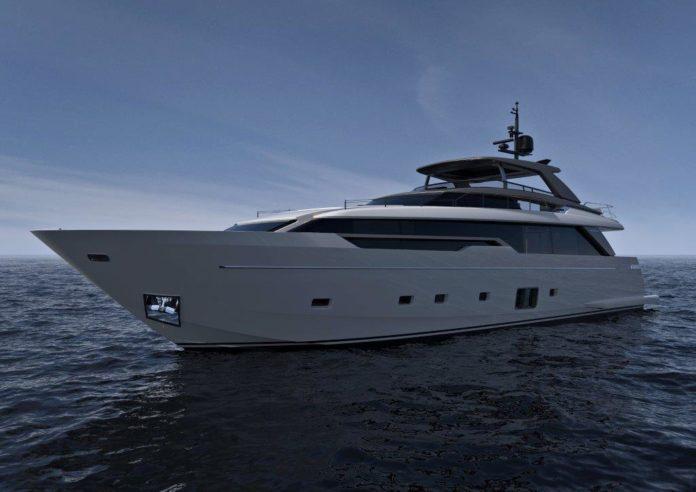 asymmetric yacht zuccon