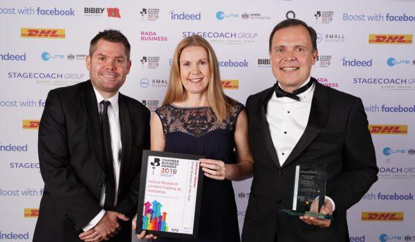 actisense rewarded by british chamber award