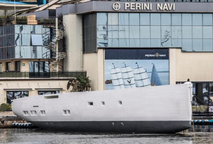 s/y perini navi nautical sector