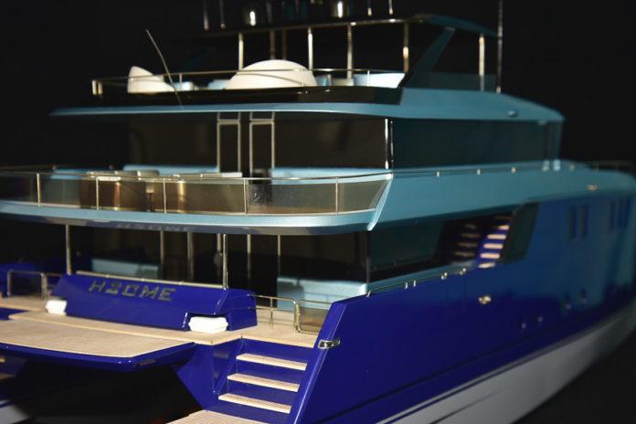 luxury catamaran project