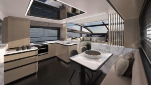 interiors pearl yacht