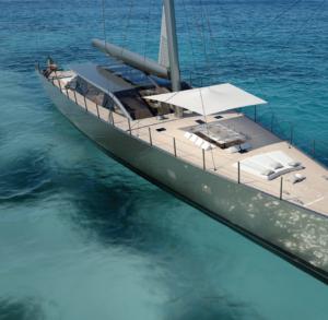 perini hybrid yacht