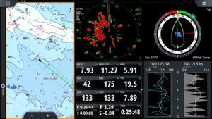 navigation tool for mega yacht