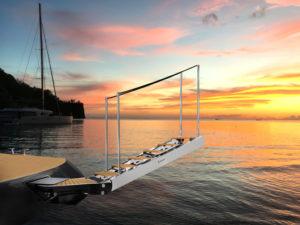 ladder besenzoni yacht