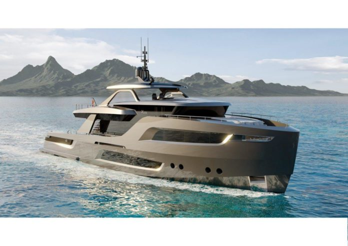 yacht with cmc technology